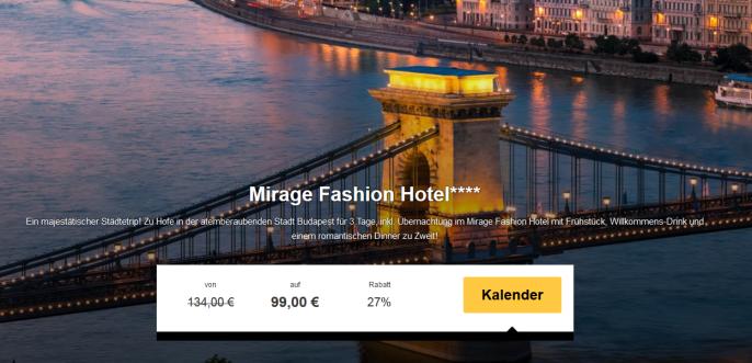 hotel mirage budapest