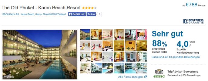 hotel the old phuket thailand