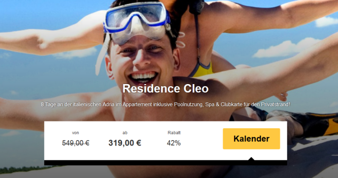 residence cleo italien