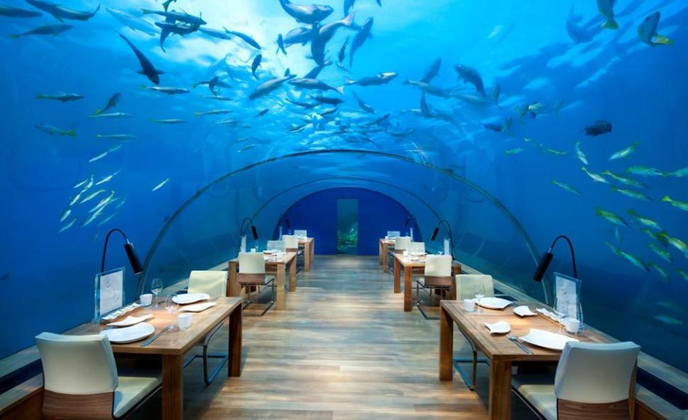 Außergewöhnliche Restaurants weltweit