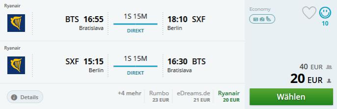 flüge nach berlin