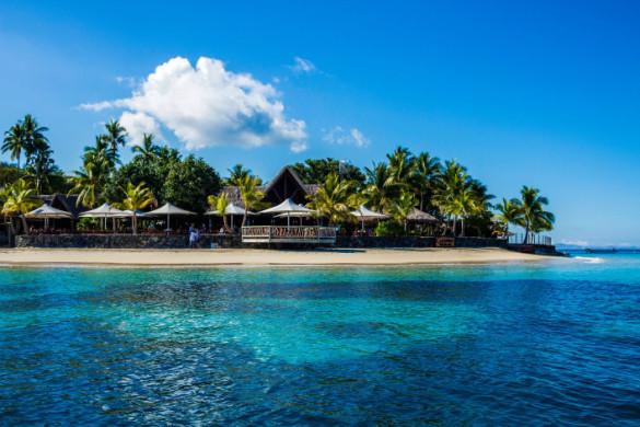Tropical Island Resort at Fiji