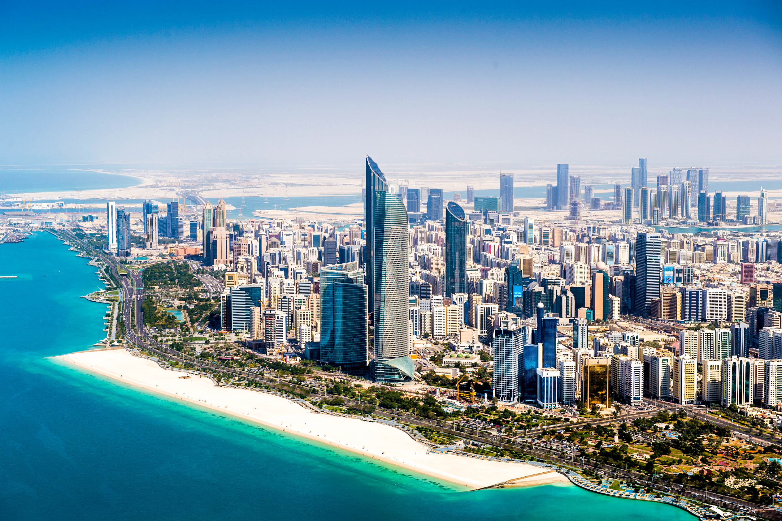 Abu Dhabi Hotels Am Strand