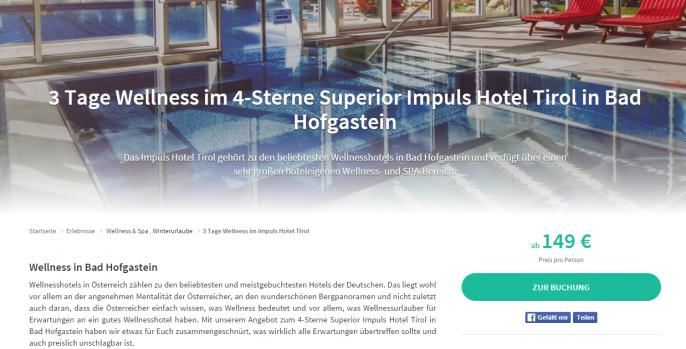 ss impuls hotel tirol hofgastein