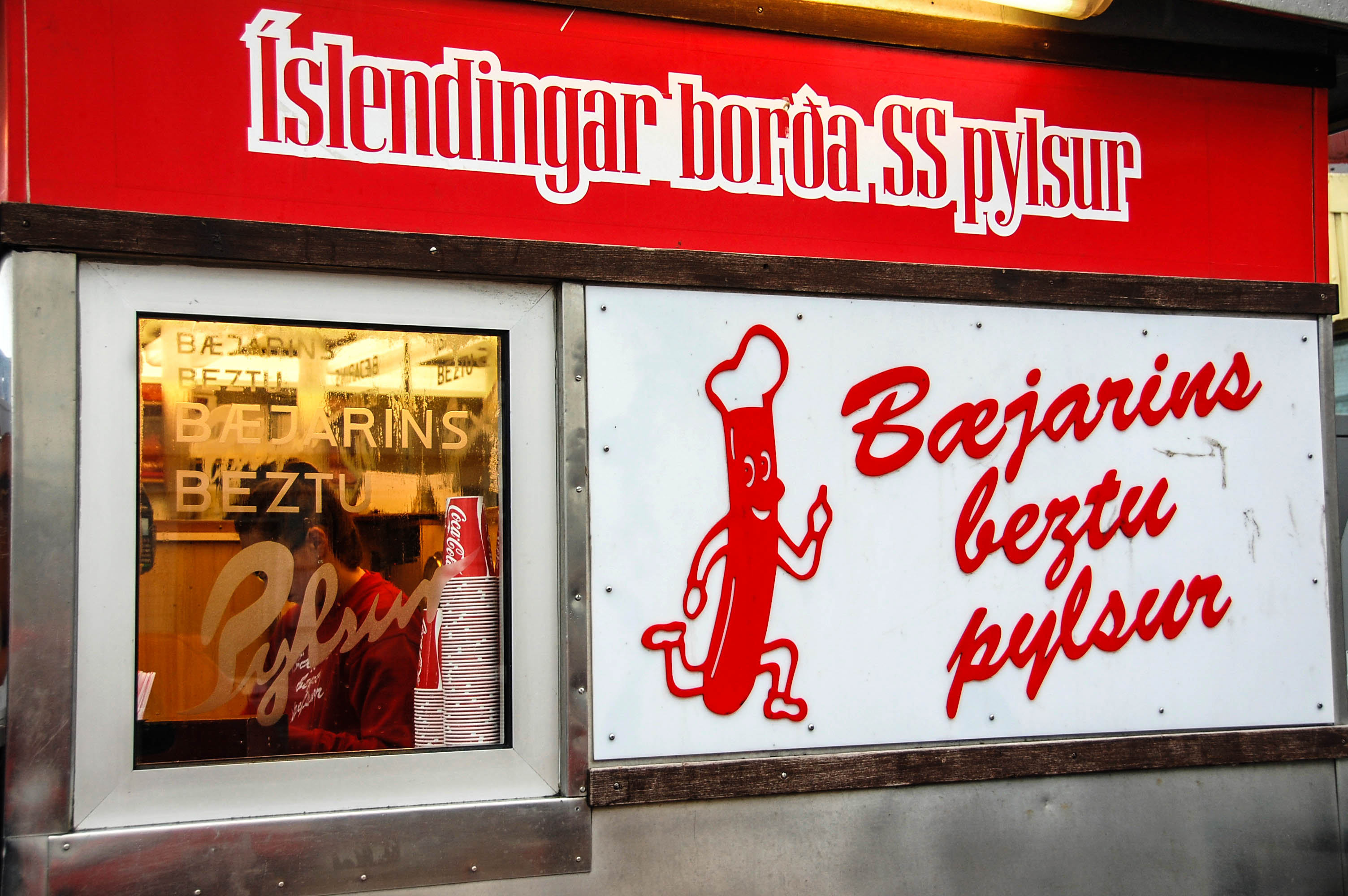 Reykjavik Tipps Hot Dog Imbiss Fast Food