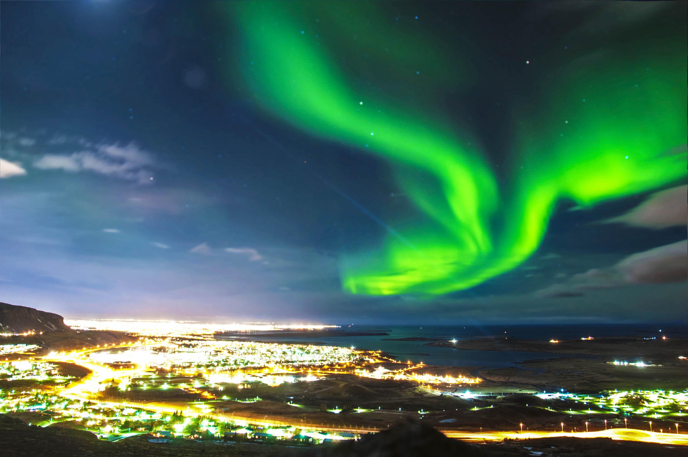 Reykjavik Tipps Polarlichter