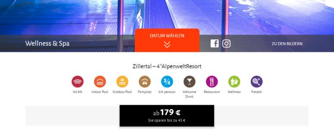 ss alpenwelt resort