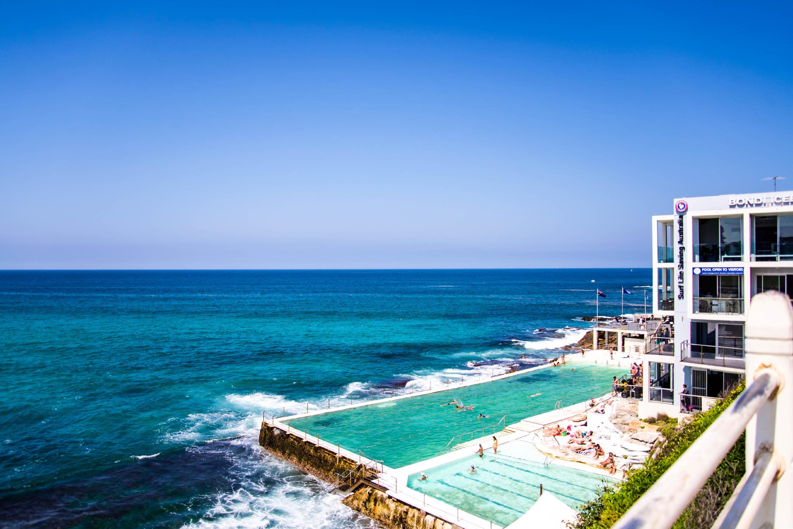 Sydney Tipps, der legendäre Pool am Bondi Beach