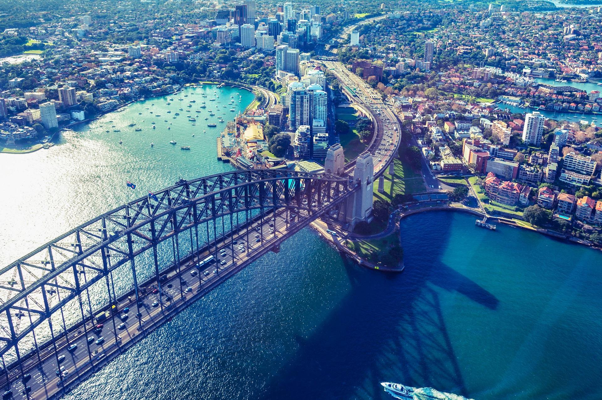 Sydney Sehenswürdigkeiten Sydney Harbor Bridge