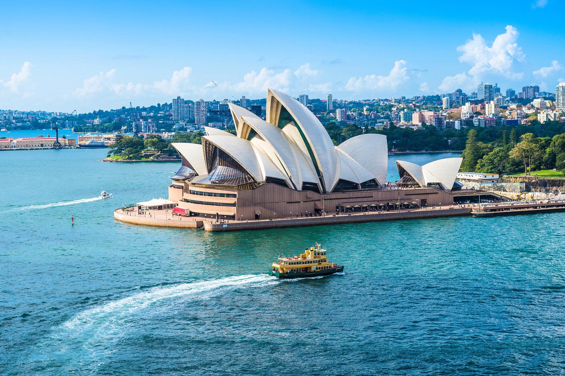 Sydney Sehenswürdigkeiten Opera House