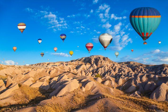 Hot Air Ballons of Cappadocia