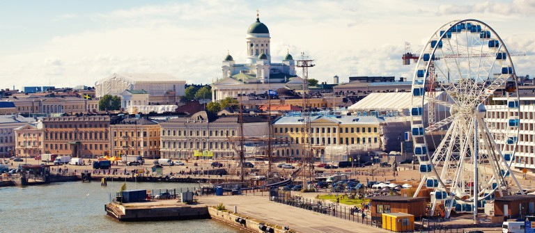 Port in Helsinki city, Finland_shutterstock_204907267