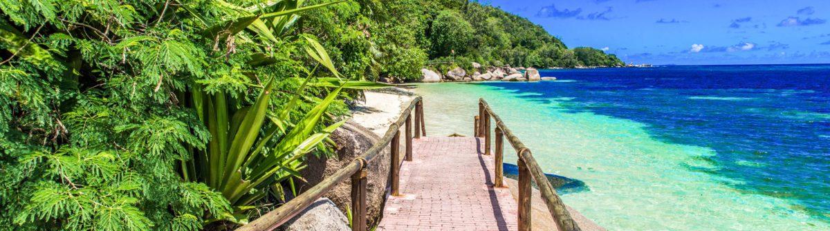 Path at paradise coast