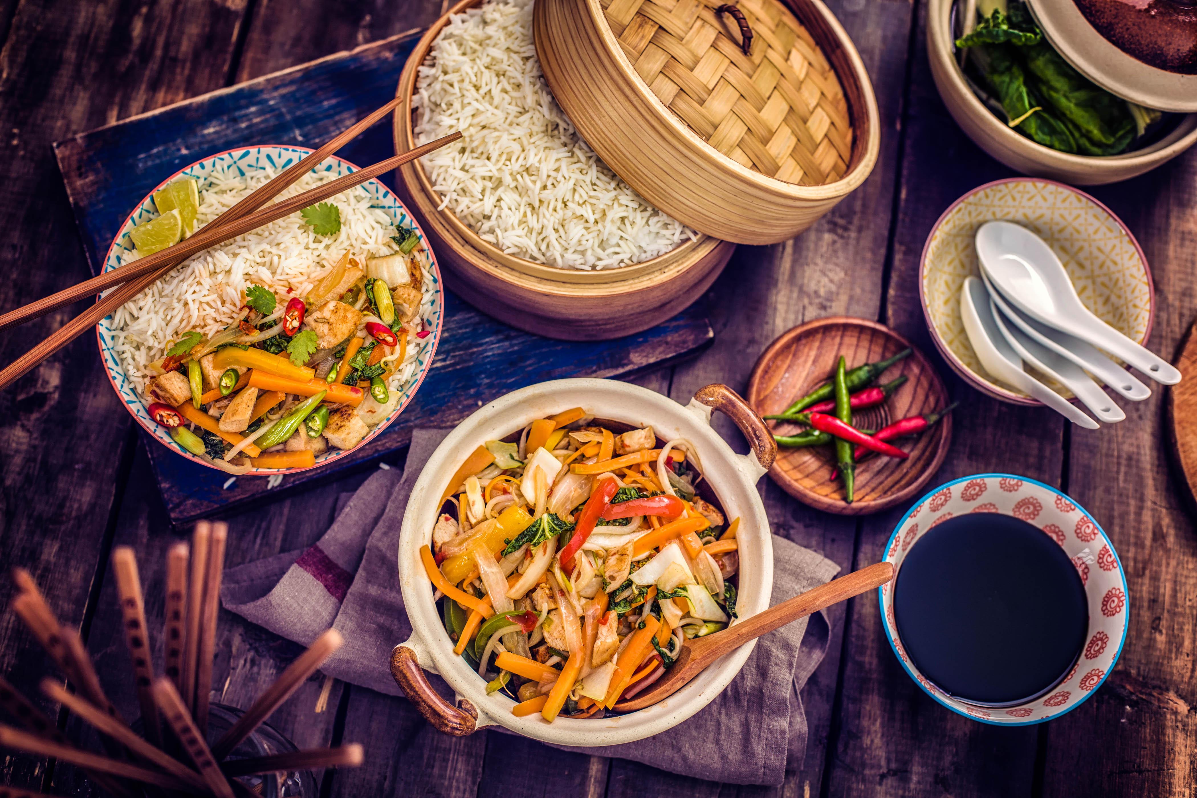 Essen auf Bali