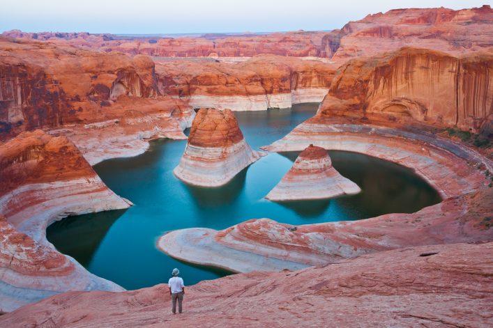 Die Glen Canyon National Recreation Area in Arizona
