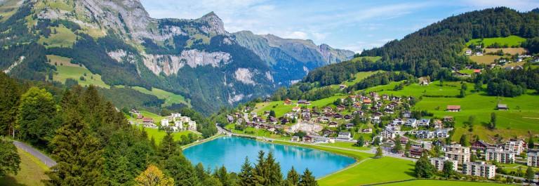 Engelberg Village, Switzerland