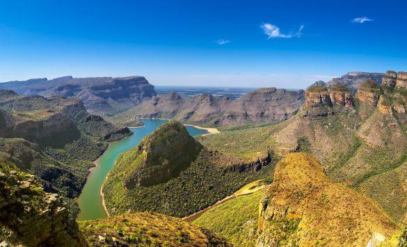 Der Blyde River Canyon in Südafrika