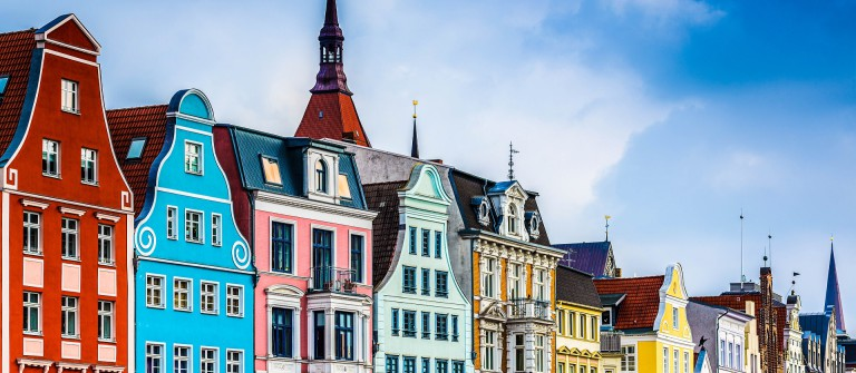 Rostock, Germany old town cityscape shutterstock_258284468-2