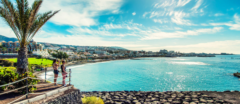 Fanabe beach in Tenerife
