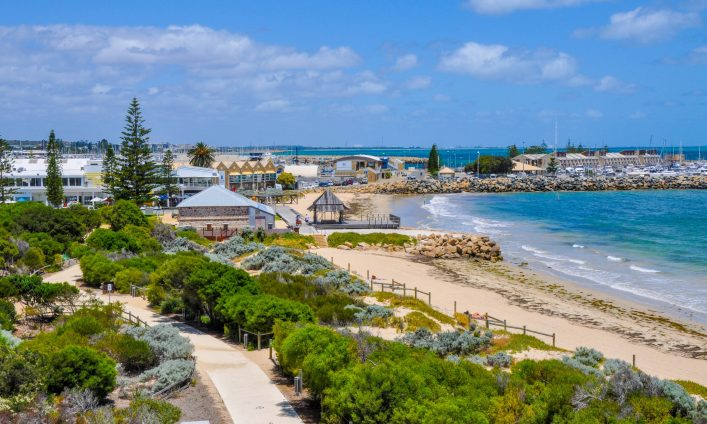 Fremantle, Western Australia: View over Bather's Beach