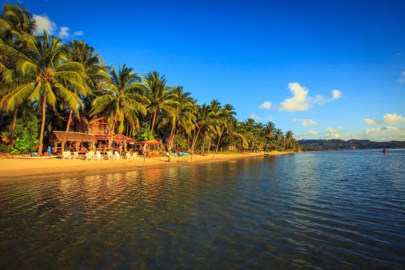 Auch die Partyinsel Ko Phangan hat schöne und einsame Strände zu bieten.