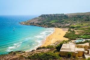 Reiseziele Juli_Badeurlaub_Malta_Ramla bay_Gozo