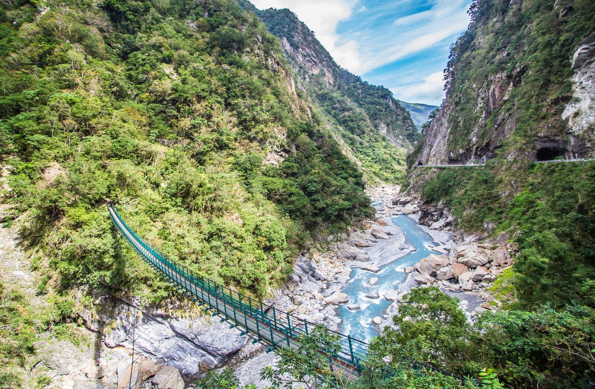 Die Taroko Schlucht in Taiwan