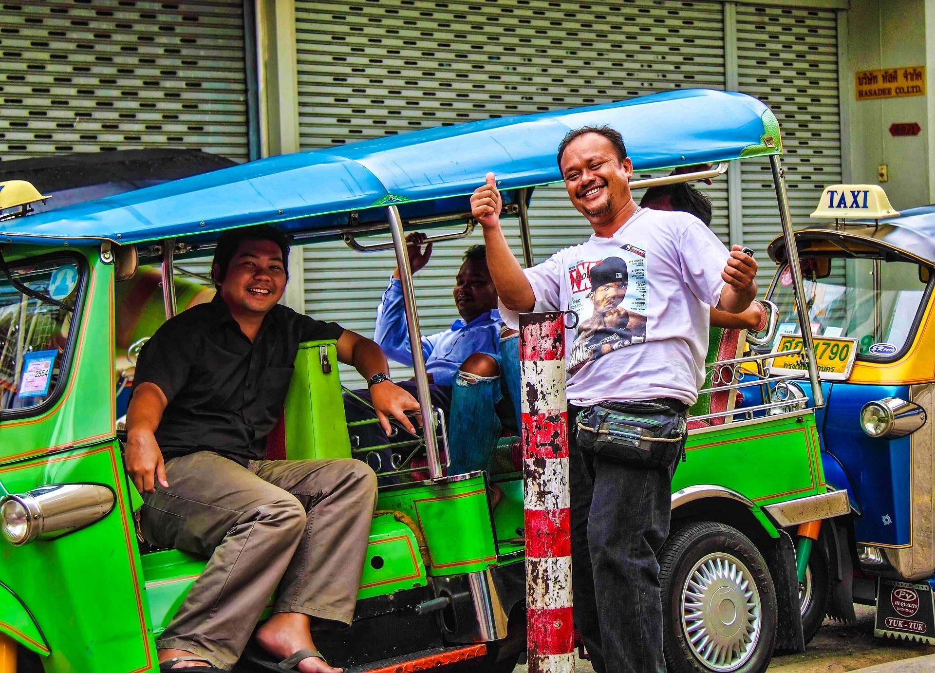 Bangkok Tipps Tuk Tuk