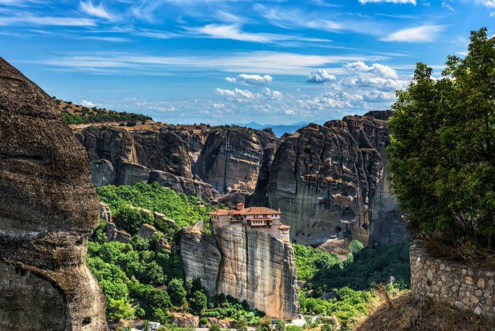 Monastery of Varvara Rusanov, Meteora, Greece