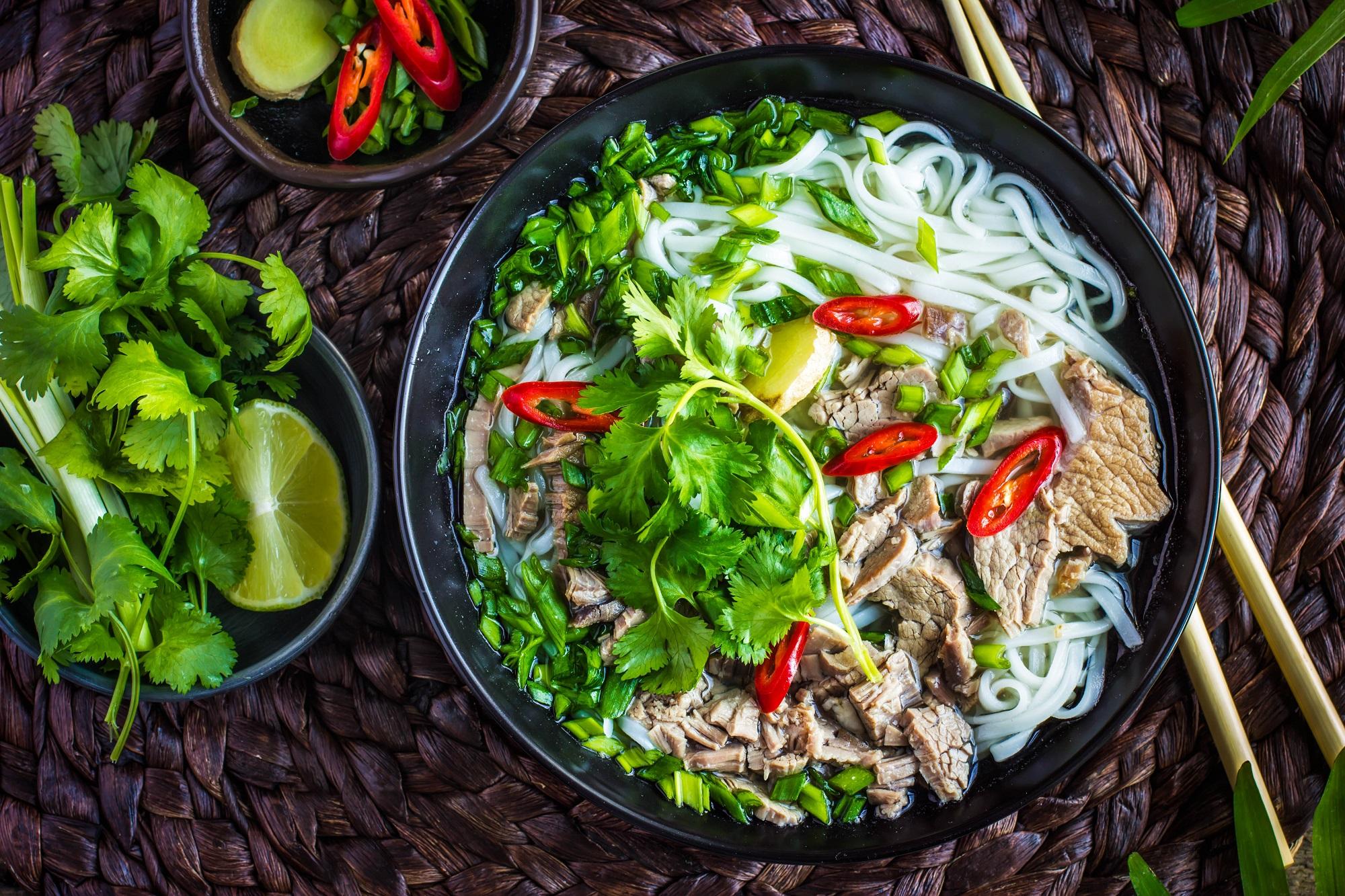 Vietnamesisches traditionelles Essen