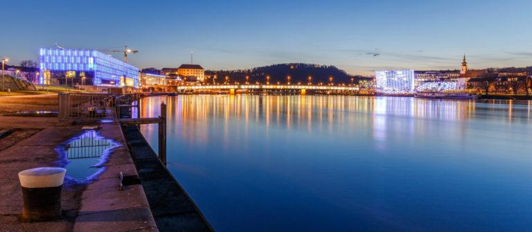 Linz at Night