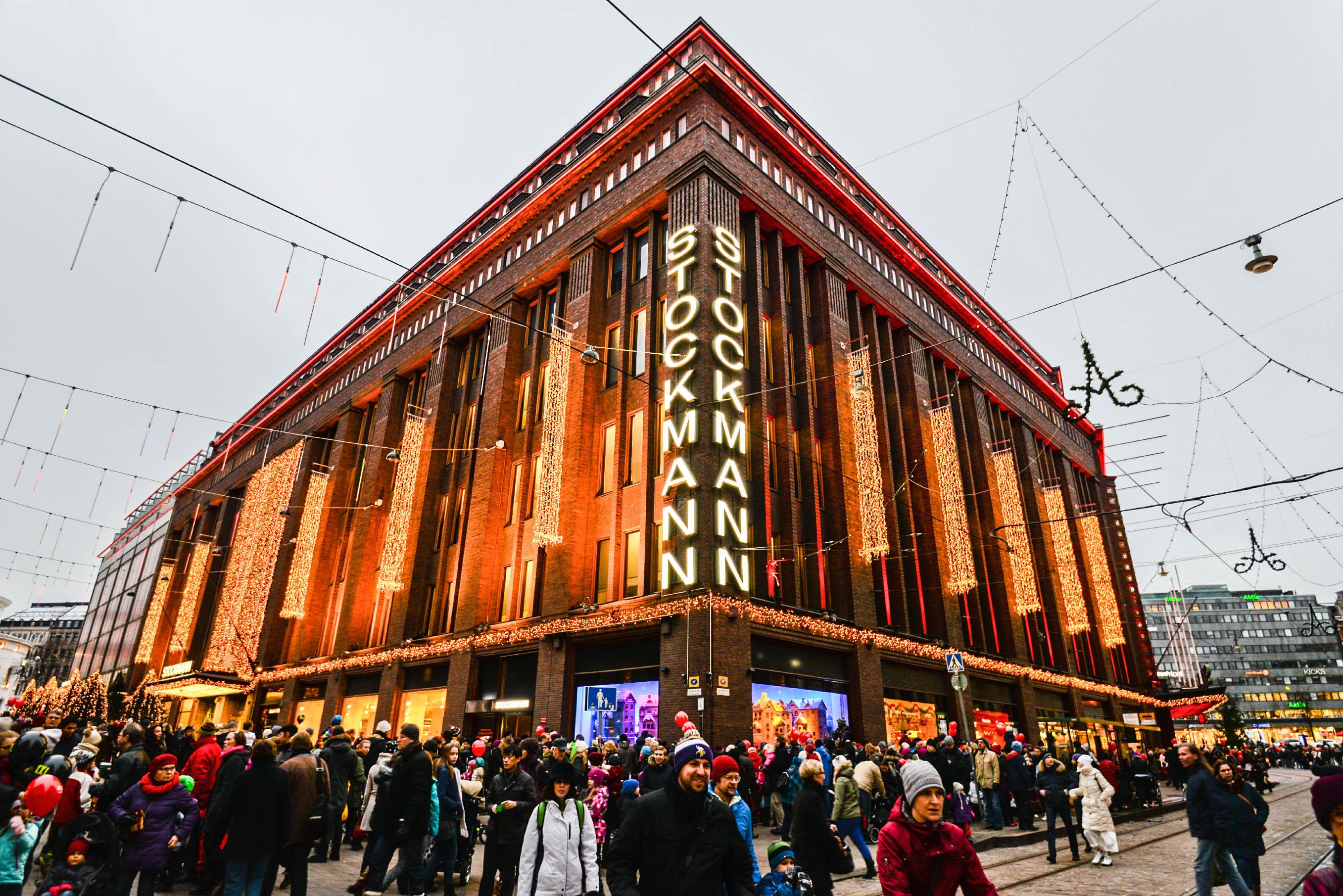 Helsinki Tipps Stockmann, Shopping