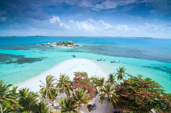 Ein toller Strand auf Sumatra in Indonesien