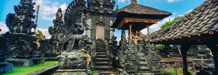 Auf Bali gibt es zahlreiche hübsche Tempel
