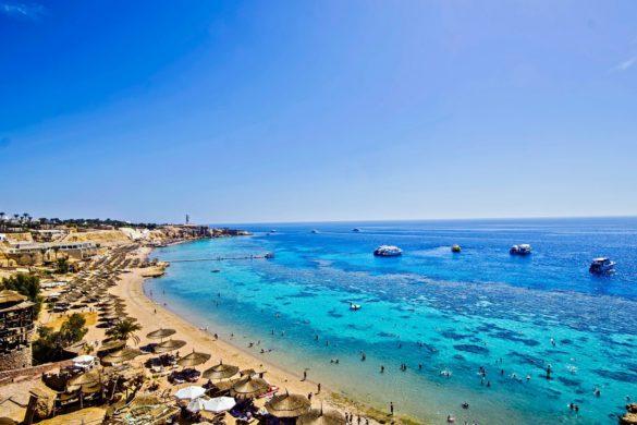 Beach at Sharm el Sheikh