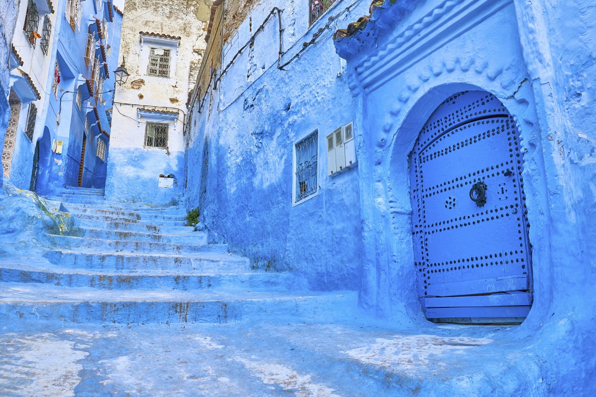 Medina in Chefchaouen, Marokko