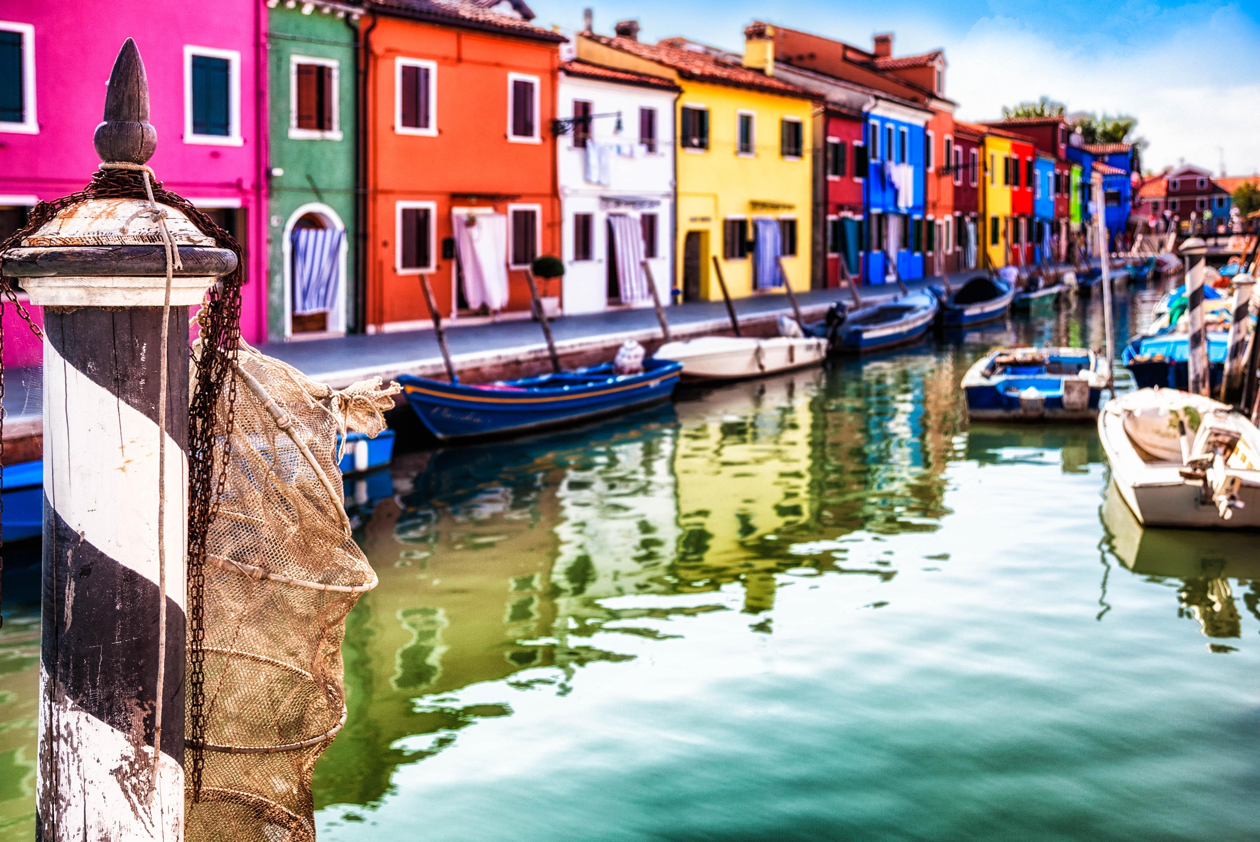 Burano, Italien, Venedig