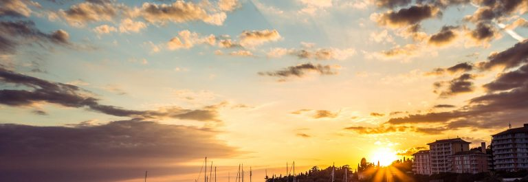 Golden-sunset-at-Adriatic-town-Portoroz-Slowenien-iStock_000020049800_Large-2