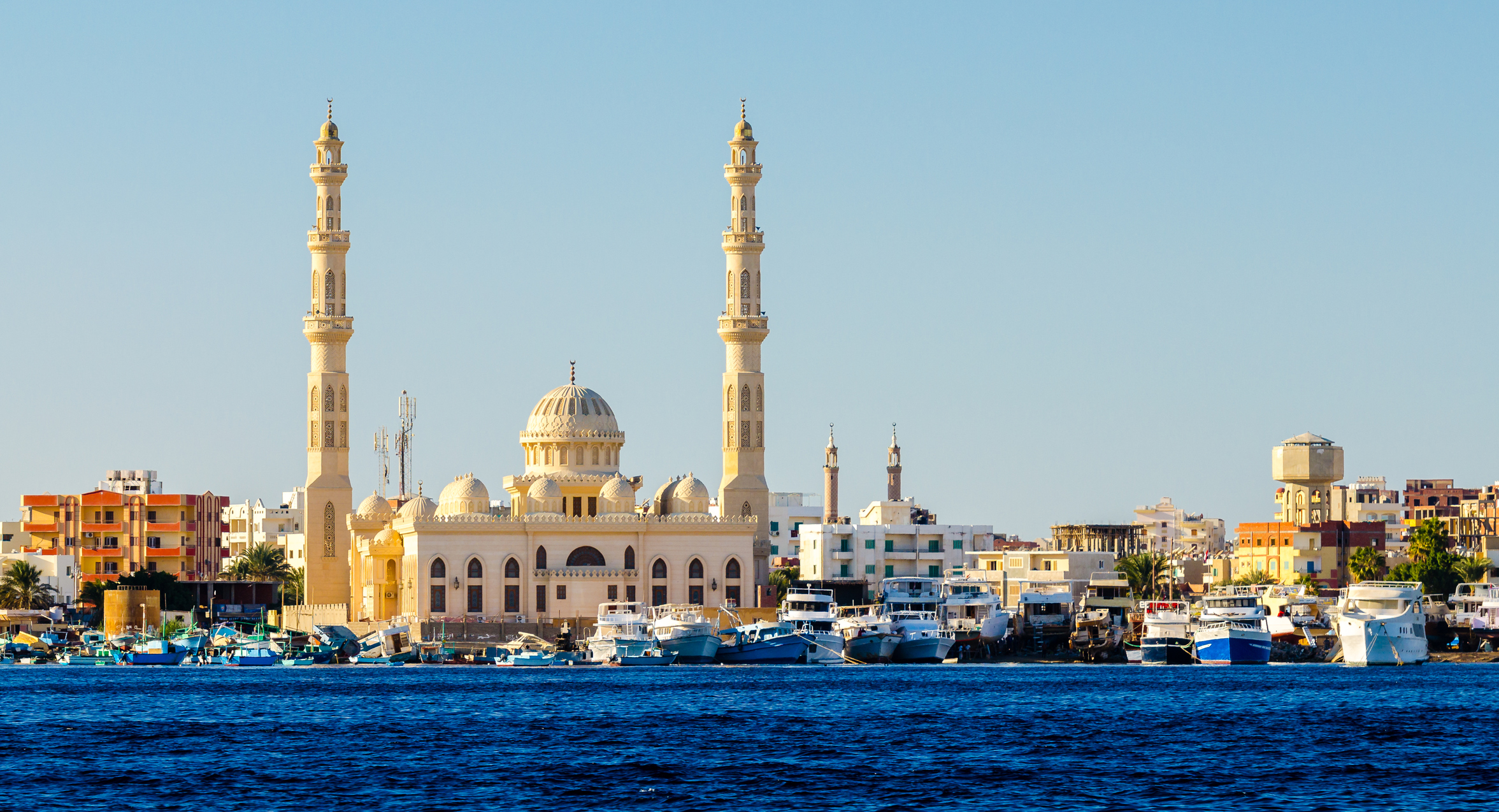 Hurghada Tipps, El Mina Moschee, Ägypten