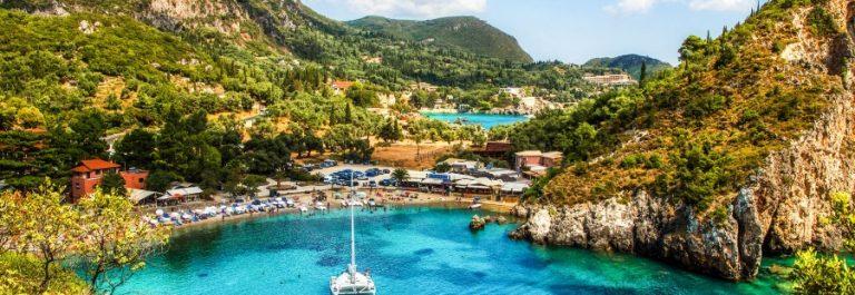 Strand auf Korfu