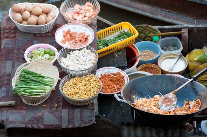 Pad Thai Boat Vender