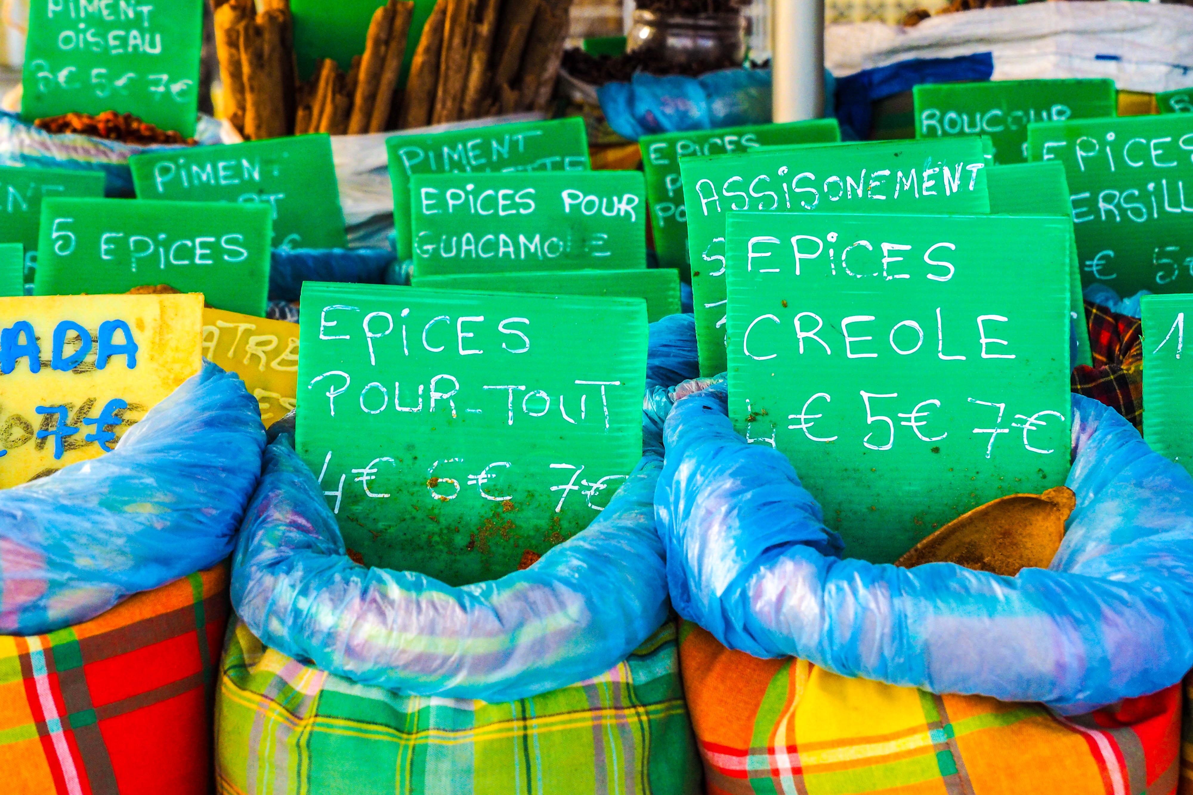 Markt in Sainte Anne auf Guadeloupe