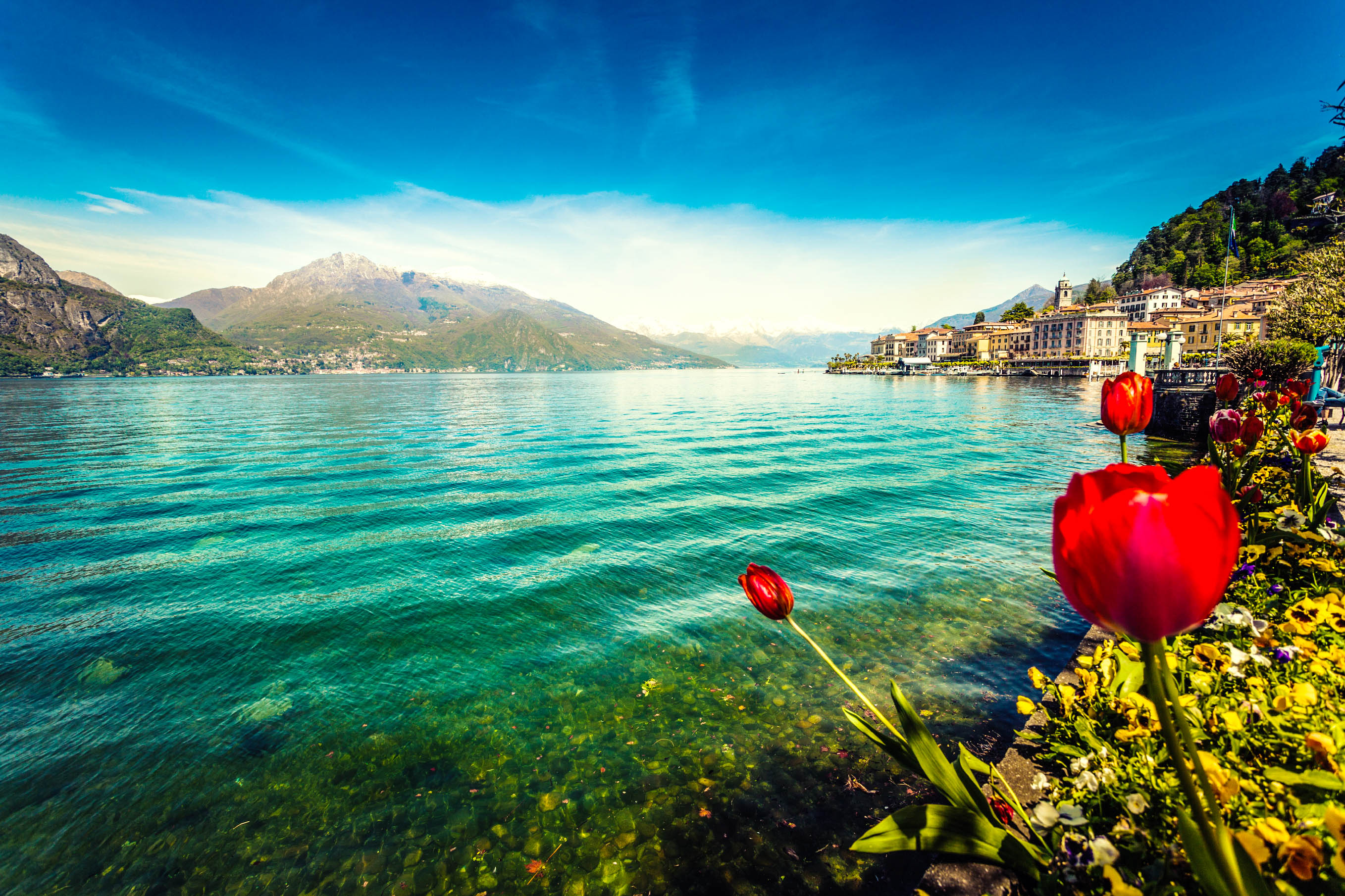 Bellagio am Comer See, Italien