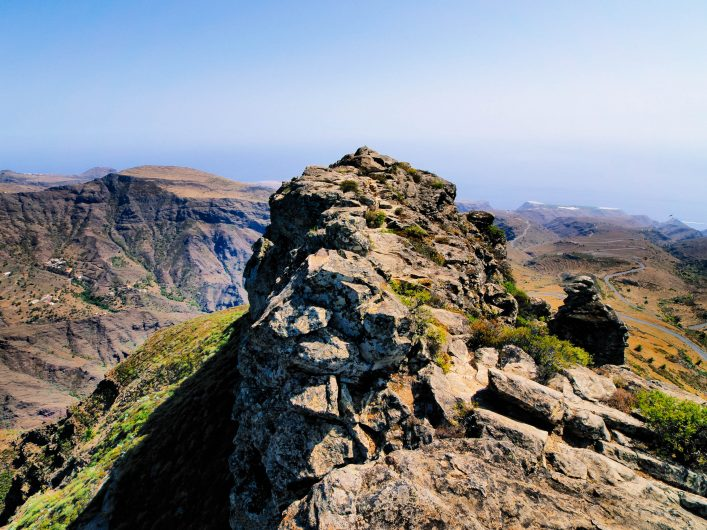Fortaleza de Chipude on  Gomera