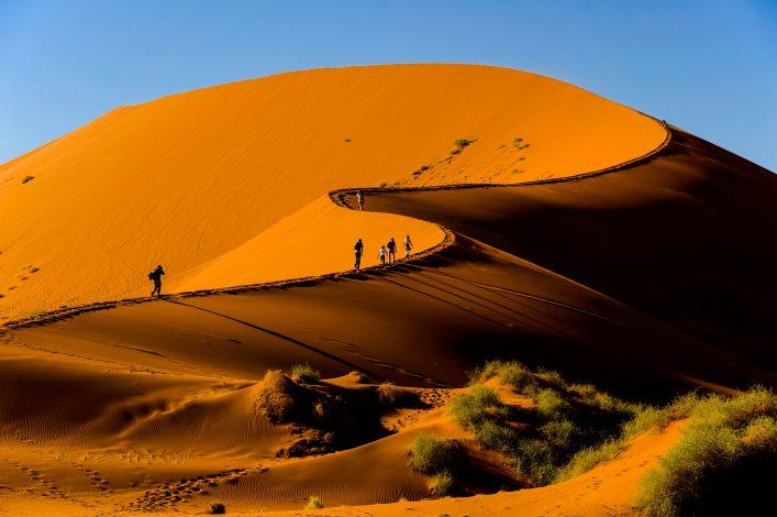 Sossusvlei dune, Naukluft National Park, Namibia