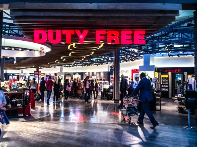 Duty Free at Ataturk Airport, Istanbul