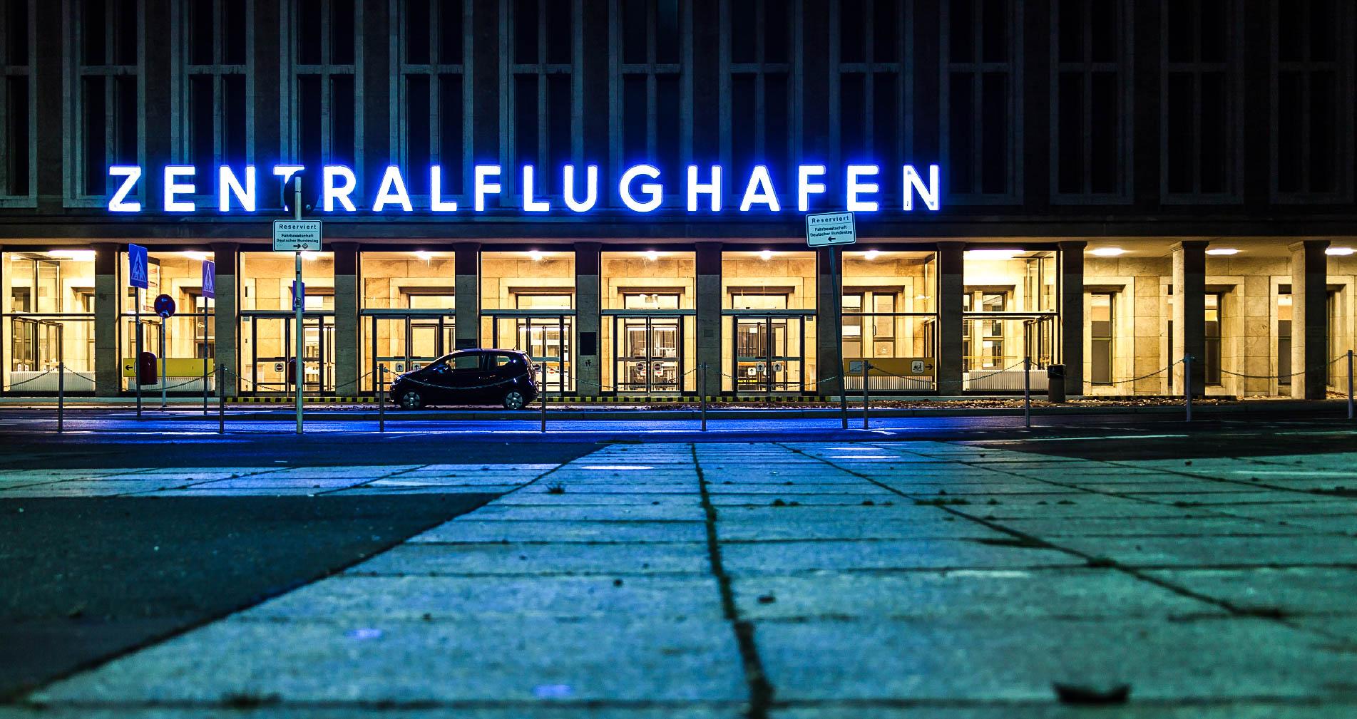 Berlin Tempelhof ehemaliger Zentralflughafen