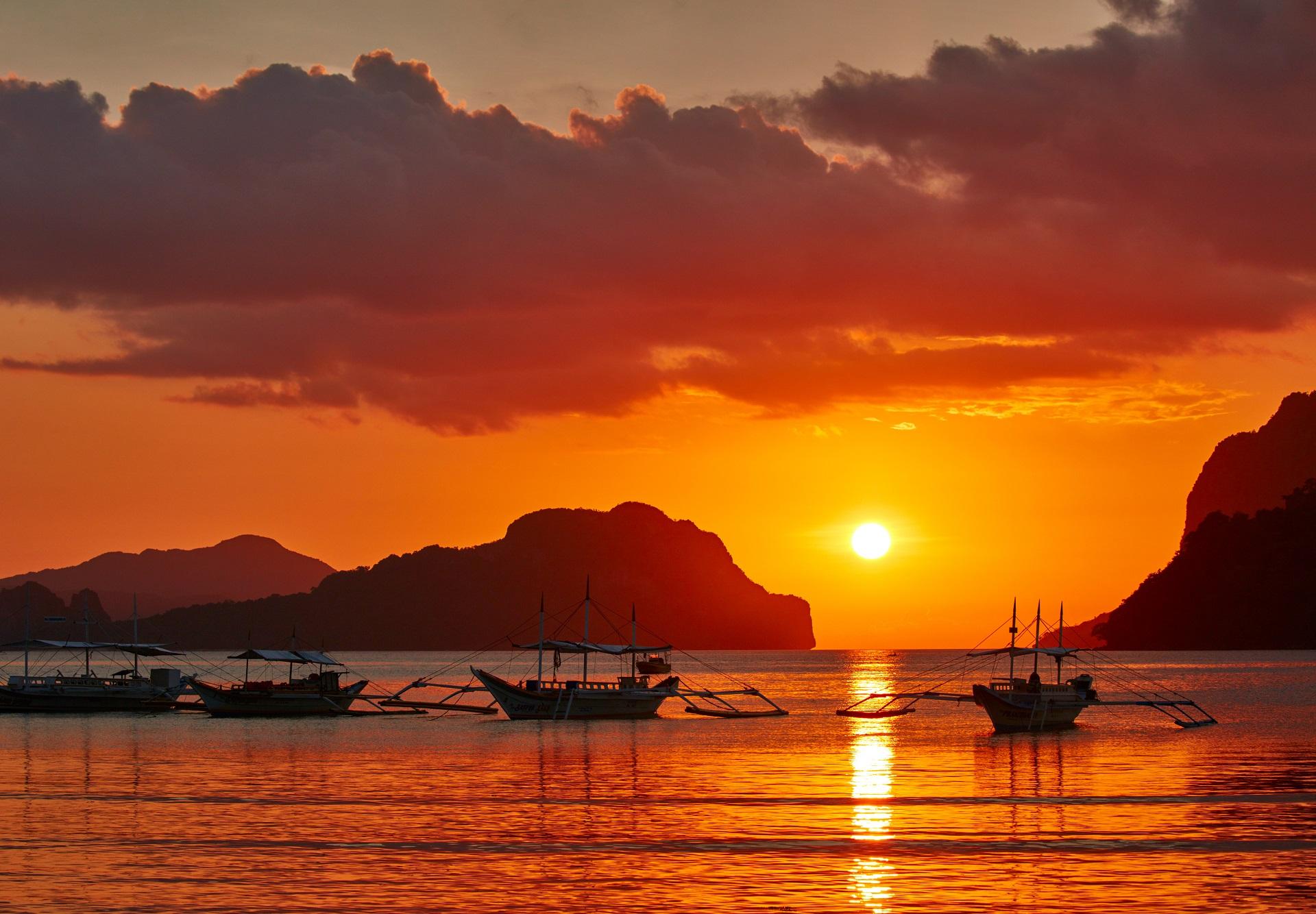 El Nido_Philippinen_sunset_shutterstock_432201058