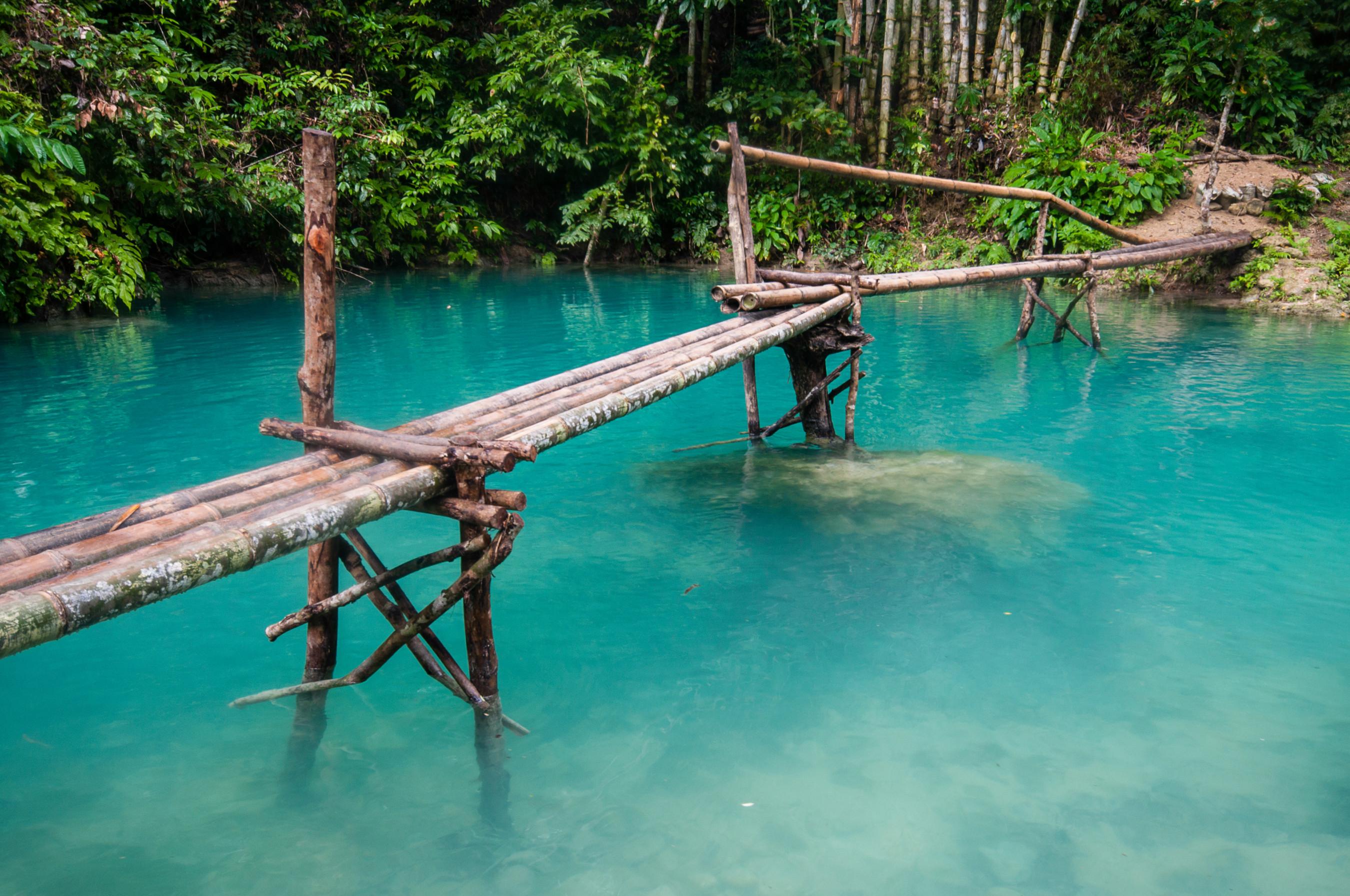 Kawasan Falls Wasserfälle Philippinen