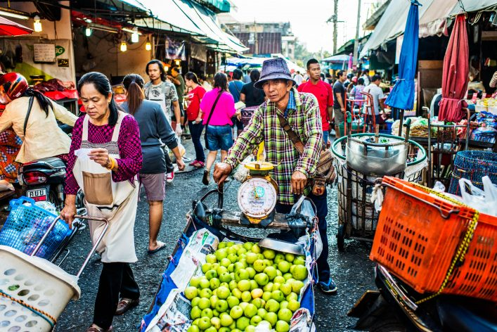 Thai Market Traffic
